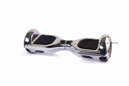 Гироскутер (гироборд) Classic 6,5 хром серебряный