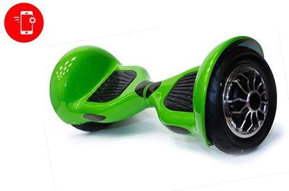 Гироскутер (гироборд) Allroad 10' digital зеленый