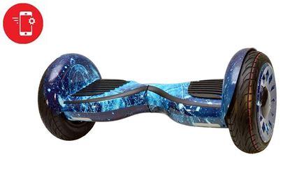 Гироскутер (гироборд) Allroad 10' Future. Limited edition blue space