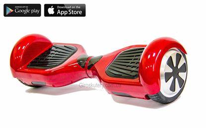 Гироскутер Classic 6.5′ Digital Red (Приложение к телефону, Самобаланс, Led, Bluetooth, сумка)