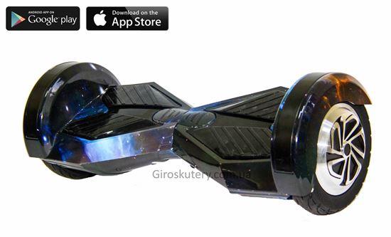 Гироскутер Lambo 8′ Digital Sun and Earth (Приложение к телефону, Самобаланс, Led, Bluetooth, сумка)