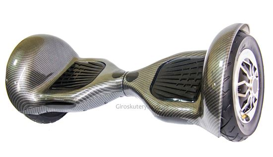 Гироскутер Allroad 10' Professional NEW Carbon (Led, Bluetooth, Сумка, Пульт)