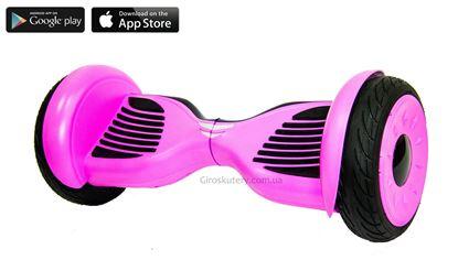 Гироскутер Allroad 10.5' Future Digital Pink (Приложение к телефону, Самобаланс, Led,Bluetooth,сумка)
