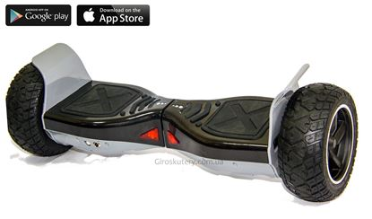 Гироскутер Kiwano Allroad digital (Led, Bluetooth, самобаланс, приложение к смартфону)