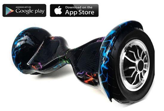 Изображение Allroad 10' Digital Colour Splash (Приложение к телефону, Самобаланс, Led,Bluetooth,сумка)