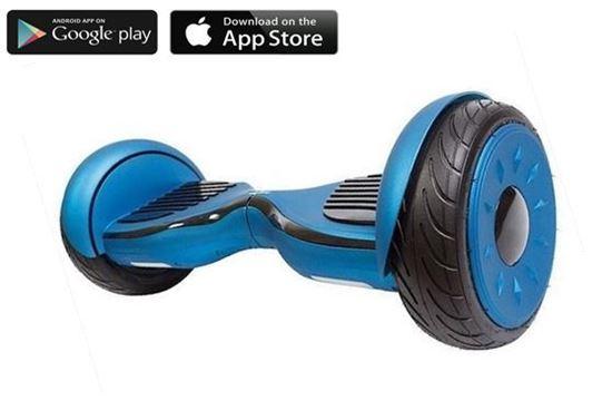 Гироскутер Allroad 10.5' Future Digital Blue (Приложение к телефону, Самобаланс, Led,Bluetooth,сумка)